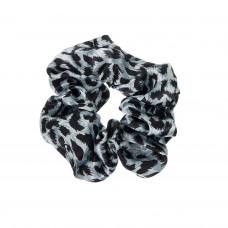 Dyreprint scrunchie i satin