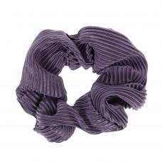 Violet scrunchie i crepe satin