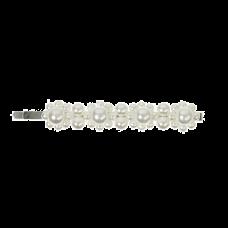 Perlefarvet hårnål med perler, 8,7 cm